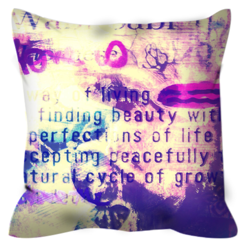Perfect Imperfections Throw Pillow