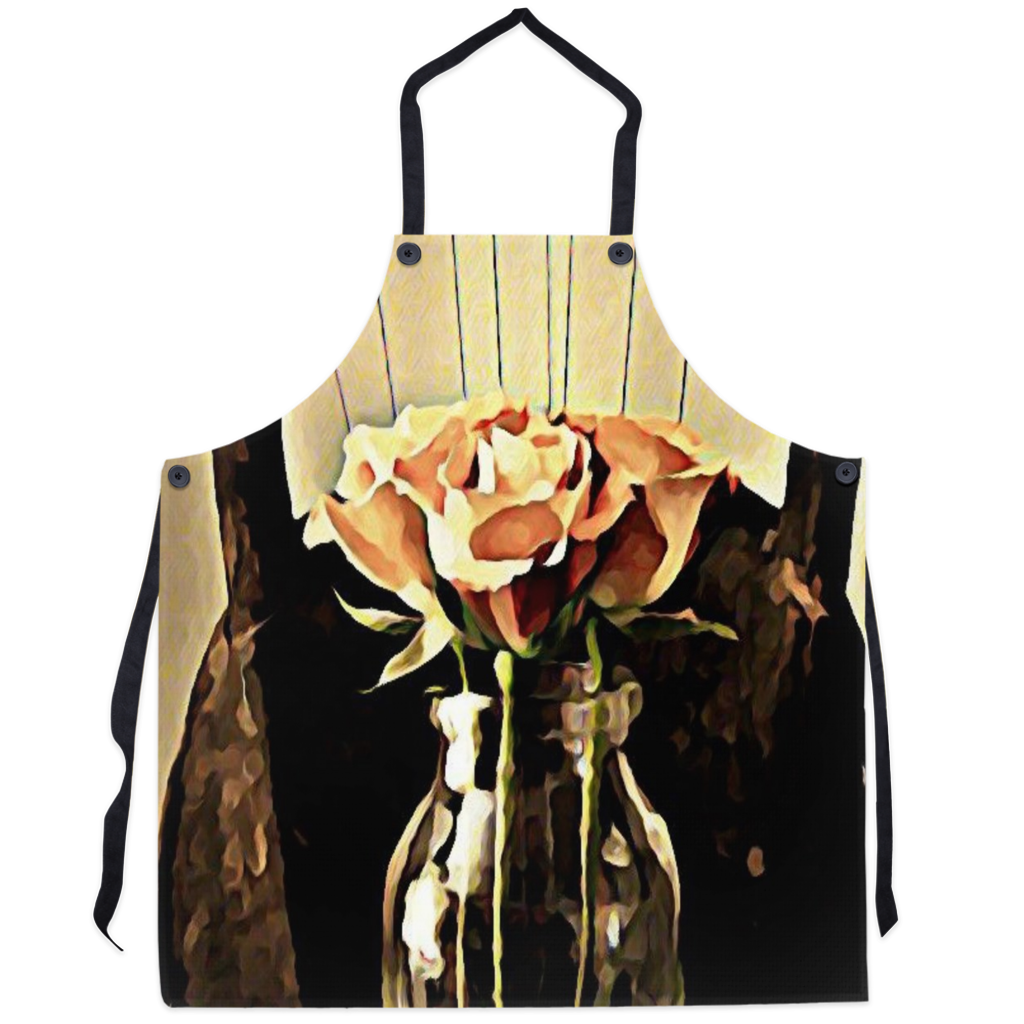 A Rose is still a Rose Apron