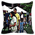 Load image into Gallery viewer, Street Scene No. 2 Throw Pillow