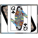 Play Your Hand...Queen Club No. 4 Acrylic Tray