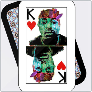 Play Your Hand...King Heart No. 2 Metal Print