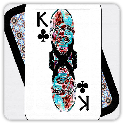 Play Your Hand...King Club No. 2 Coaster Set
