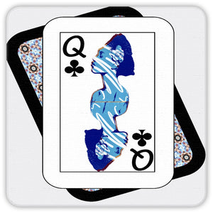 Play Your Hand...Queen Club No. 2 Coaster Set