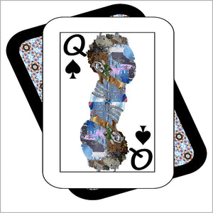 Play Your Hand...Queen Spade No. 2 Canvas Poster