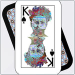 Load image into Gallery viewer, Play Your Hand...King Spade No. 2 Metal Print