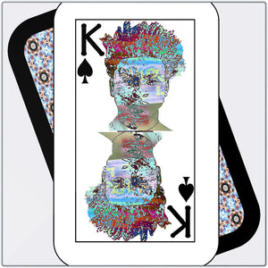 Play Your Hand...King Spade No. 2 Metal Print