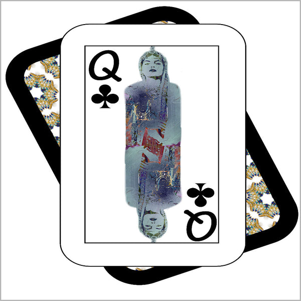Play Your Hand...Queen Club No. 3 Canvas Poster