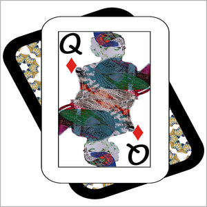Play Your Hand...Queen Diamond No. 3 Canvas Poster