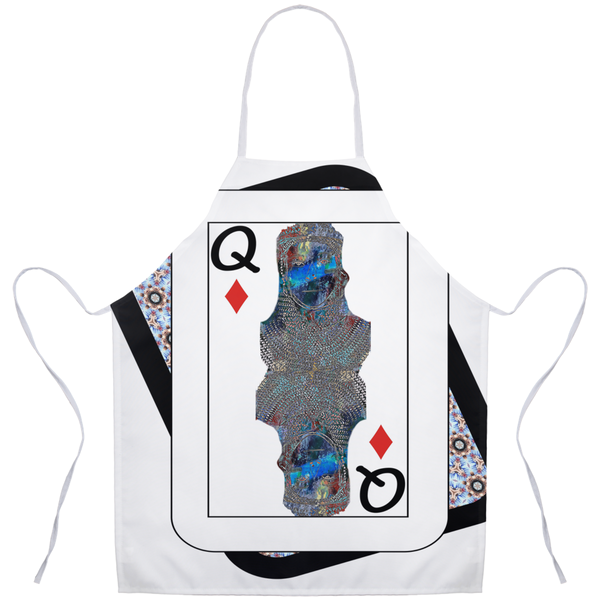 Play Your Hand...Queen Diamond No. 2 Apron