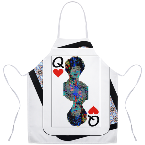 Play Your Hand...Queen Heart No. 2 Apron