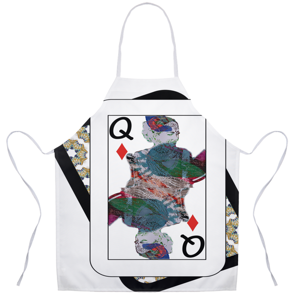 Play Your Hand...Queen Diamond No. 3 Apron