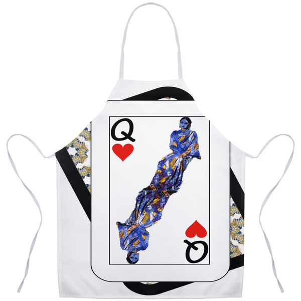 Play Your Hand...Queen Heart No. 3 Apron