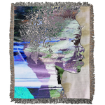 Load image into Gallery viewer, Don't Look Back Woven Blanket