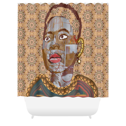 Ego Tripping Shower Curtain