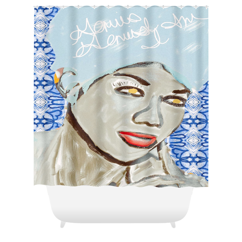 Genius of Love Shower Curtain