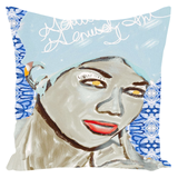 Genius of Love Throw Pillow