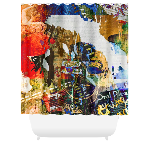 Tease Me...Please Me...Love Me Shower Curtain