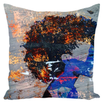 Load image into Gallery viewer, Blue Magic Throw Pillow