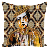 Queen Things No. 5 Throw Pillow