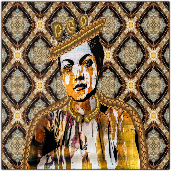 Queen Things No. 5 Metal Print