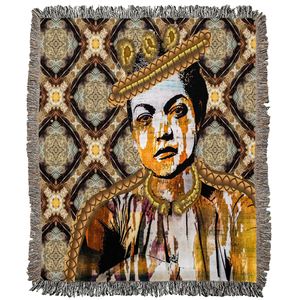 Queen Things No. 5 Woven Blanket