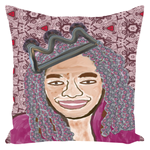 Load image into Gallery viewer, Queen Things No. 6 Throw Pillow