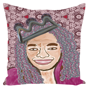Queen Things No. 6 Throw Pillow