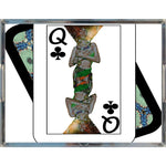 Load image into Gallery viewer, Play Your Hand...Queen Club No. 1 Acrylic Tray