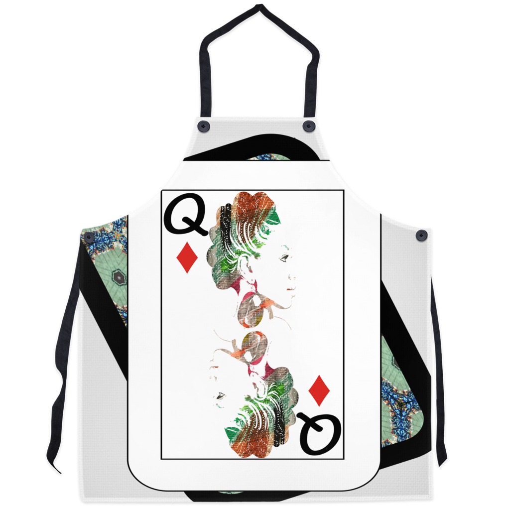 Play Your Hand...Queen Diamond No. 1 Apron