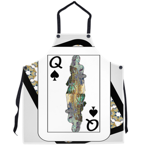 Play Your Hand...Queen Spade No. 3 Apron