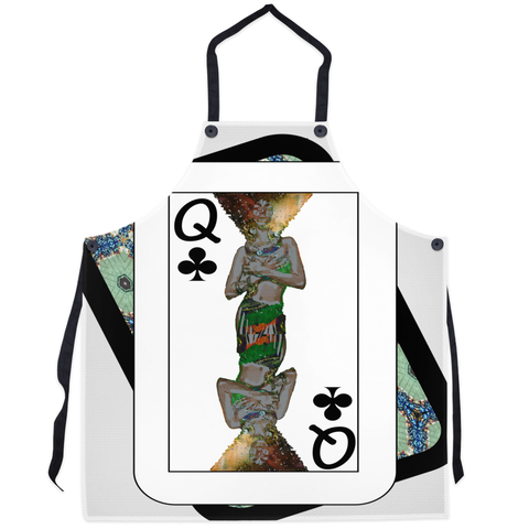 Play Your Hand...Queen Club No. 1 Apron