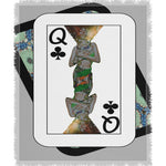 Load image into Gallery viewer, Play Your Hand...Queen Club No. 1 Woven Blanket