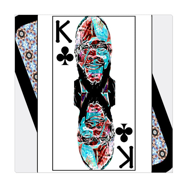 Play Your Hand...King Club No. 2 Wrapped Canvas
