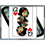 Load image into Gallery viewer, Play Your Hand...Queen Heart No. 1 Acrylic Tray