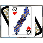 Load image into Gallery viewer, Play Your Hand...Queen Heart No. 3 Acrylic Tray
