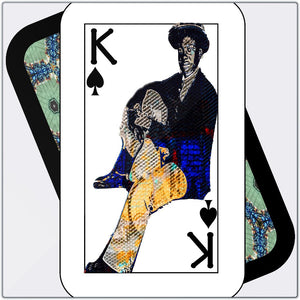 Play Your Hand...King Spade No. 1 Metal Print