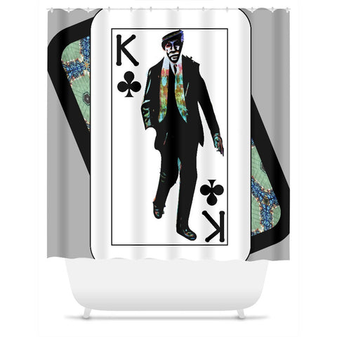 Play Your Hand...King Club No. 1 Shower Curtain