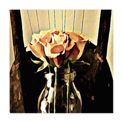 A Rose is still a Rose Wrapped Canvas