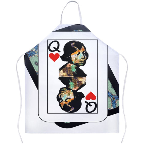 Play Your Hand...Queen Heart No. 1 Apron