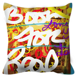 BOOM 3000 Throw Pillow