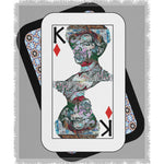Load image into Gallery viewer, Play Your Hand...King Diamond No. 2 Woven Blanket