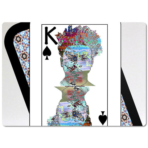 Play Your Hand...King Spade No. 2 Glass Cutting Board