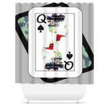 Play Your Hand...Queen Spade No. 1 Shower Curtain