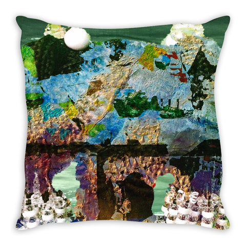 The World is Yours Throw Pillow