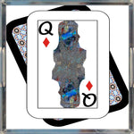 Load image into Gallery viewer, Play Your Hand...Queen Diamond No. 2 Acrylic Tray