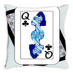 Load image into Gallery viewer, Play Your Hand...Queen Club No. 2 Throw Pillow