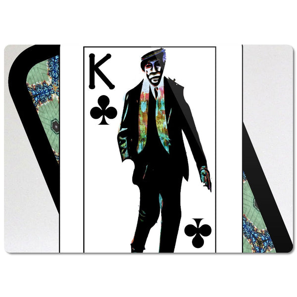 Play Your Hand...King Club No. 1 Glass Cutting Board