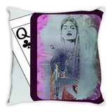 Play Your Hand...Watch Your Back No. 1 Throw Pillow