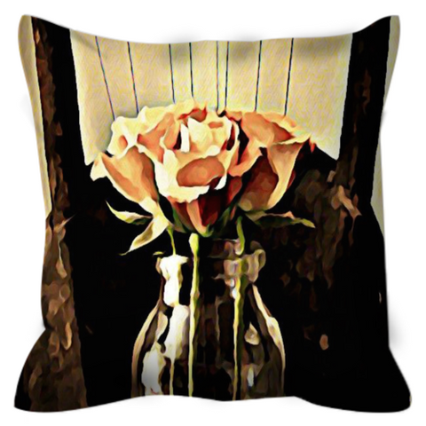 A Rose is still a Rose Throw Pillow