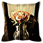 Load image into Gallery viewer, A Rose is still a Rose Throw Pillow